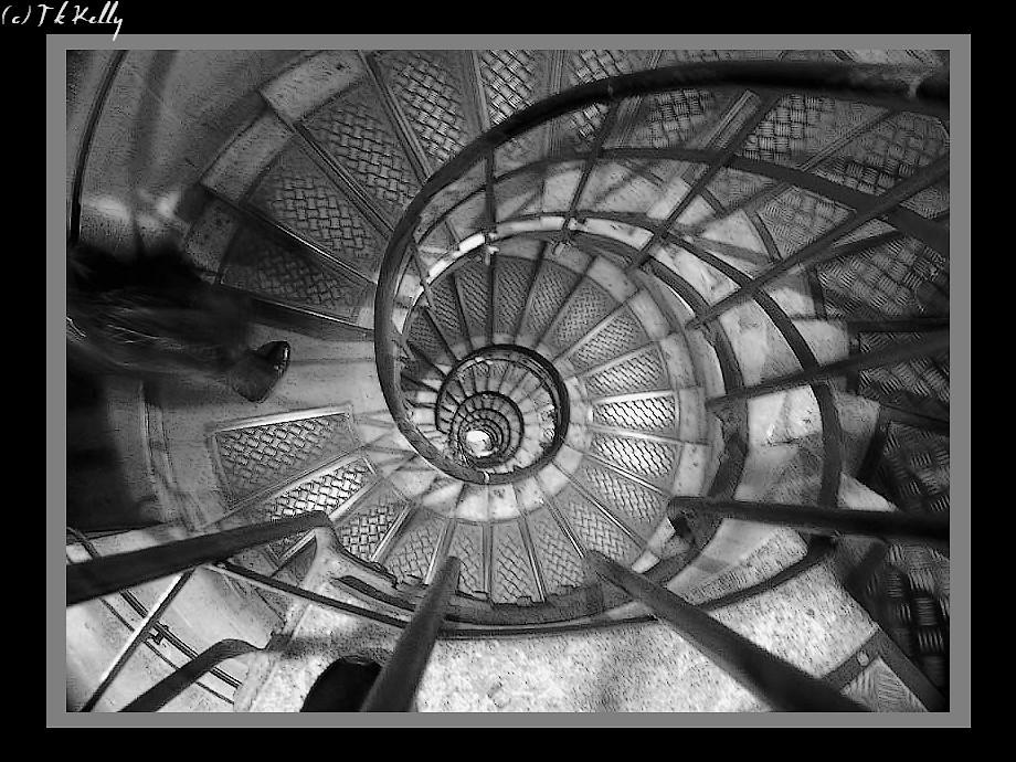 Paris - Photos Arc de Triomphe Escalier de l Arc de Triomphe